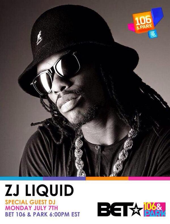 @zjliquid on @106andpark tomorrow http://t.co/sql7YyEO3f
