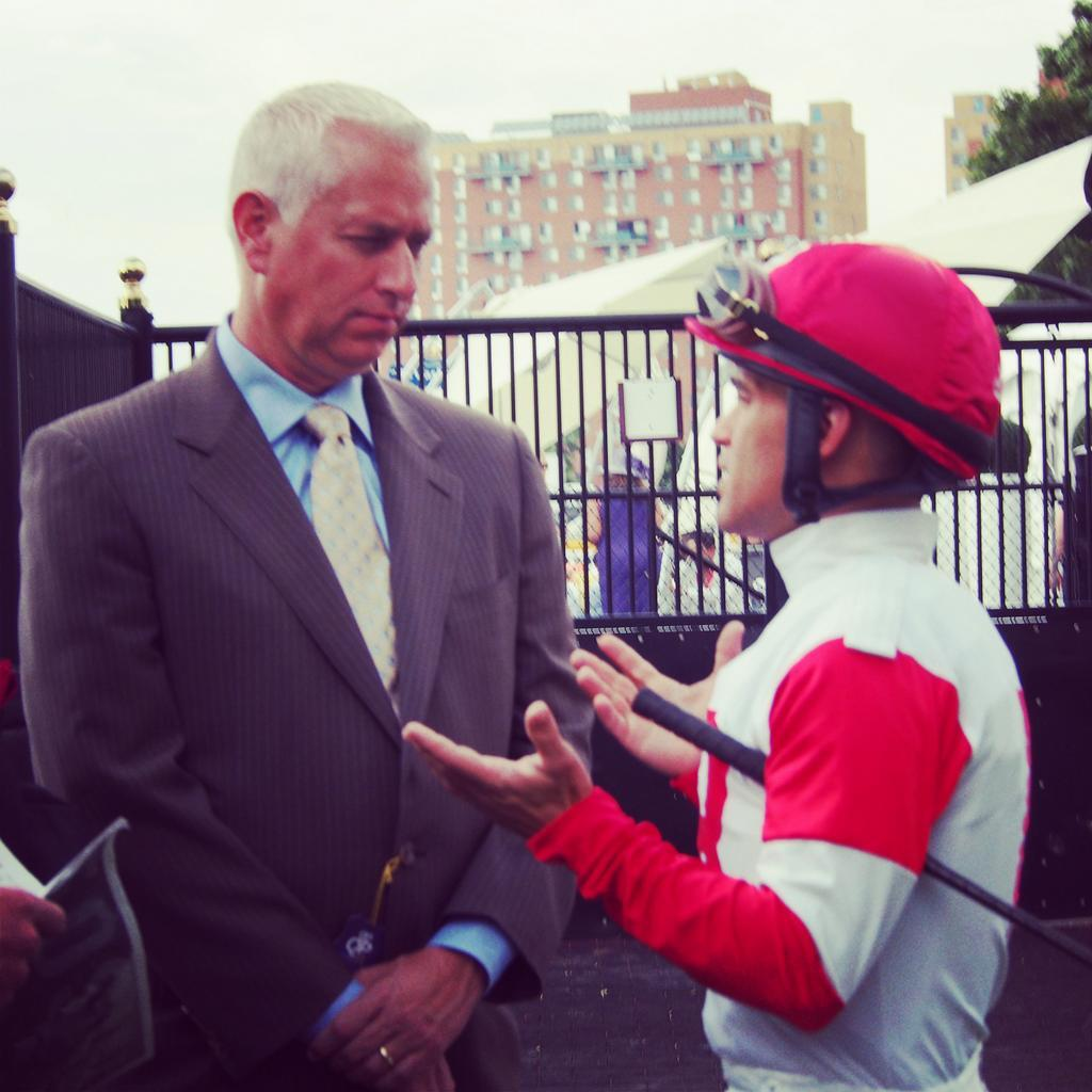 Twitter / WoodbineRacing: Men of the Hour. Todd Pletcher ...