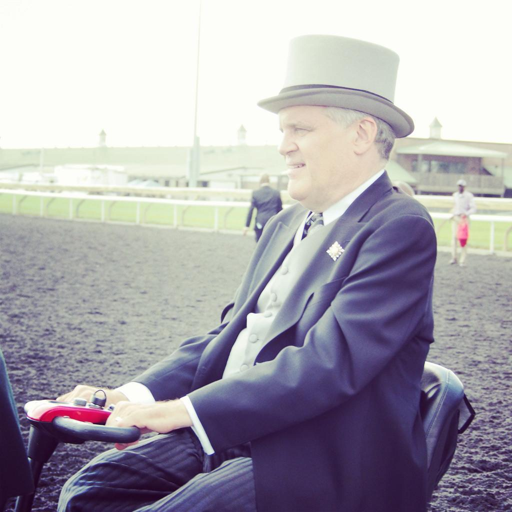 Twitter / WoodbineRacing: We thank the Honourable David ...