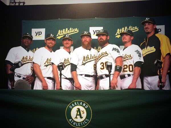 Your 2014 A's All Stars http://t.co/XJ1g18niEe