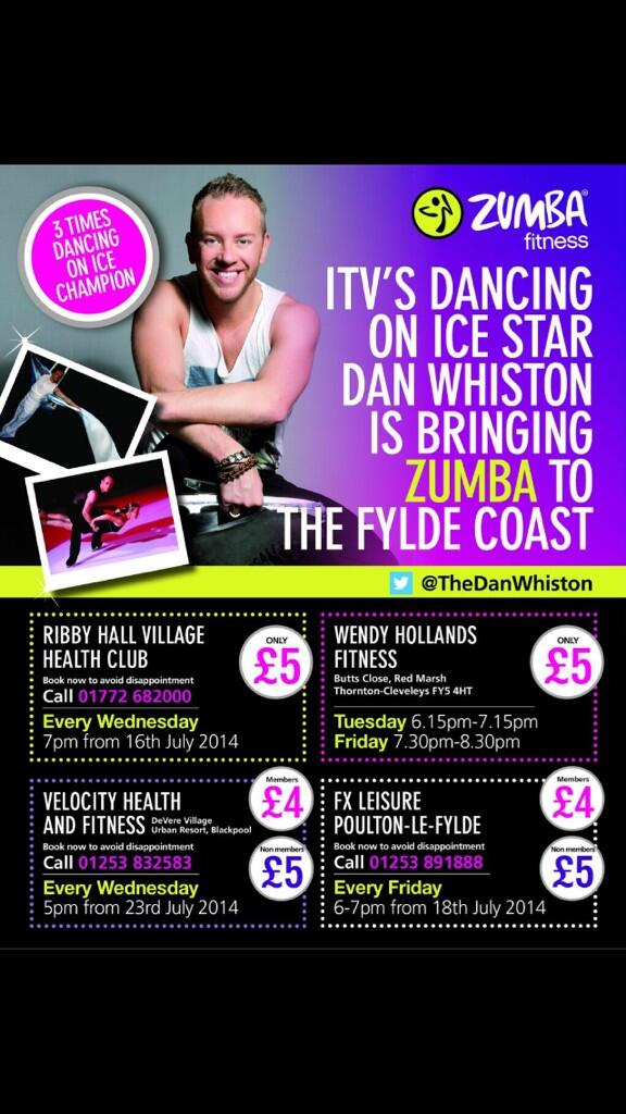 Very excited to be launching my Zumba project starting 1 week tomorrow!!!!! X http://t.co/V4jEXyckfJ