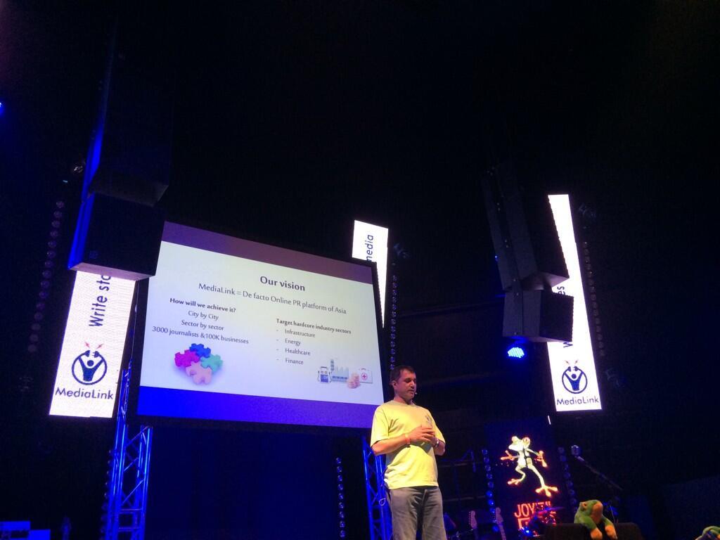 Twitter / kaylenehong: MediaLink aims to be a PR ...
