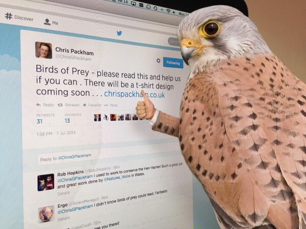 MT @ChrisGPackham: Birds of Prey- please read this and help us if you can. http://t.co/5sHncAWlDP http://t.co/8LlTLMfZ82