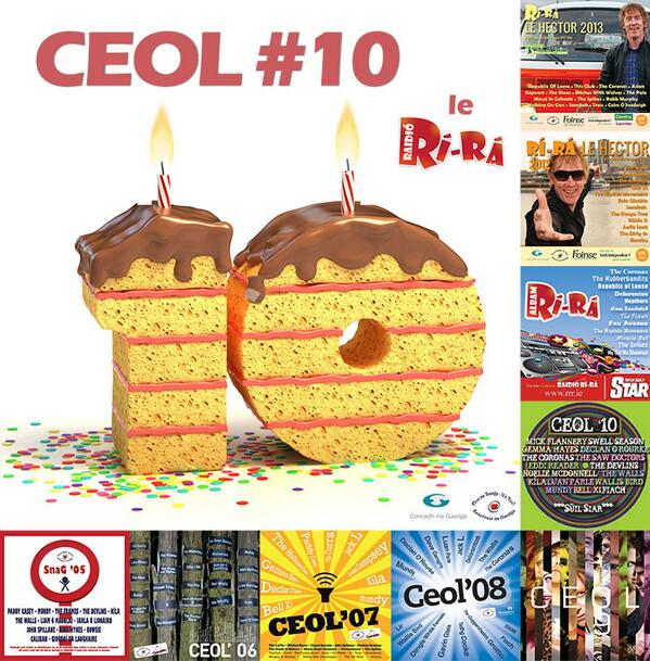 Ceol #10 le Raidió Rí-Rá, albam na bliana 2014 le scoth an cheoil as Gaeilge ó Republic of Loose, The Riptide Movement, The Spikes, The Coronas, The Swell Season, Ham Sandwich, Delorentos, Bell X1, Traic, Kíla, Seo Linn, The Shoos, Senakah agus Apollo Six
