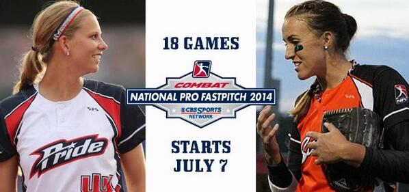 So excited that #NPFonCBS is starting tonight! Don't miss all of the @profastpitch action televised this summer! http://t.co/TbI2PAhwy1