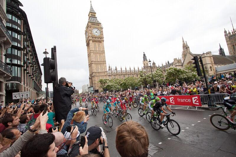 London looked fantastic on stage 3 of @letour . Well done to everyone involved. http://t.co/Xx9Co9UYQc