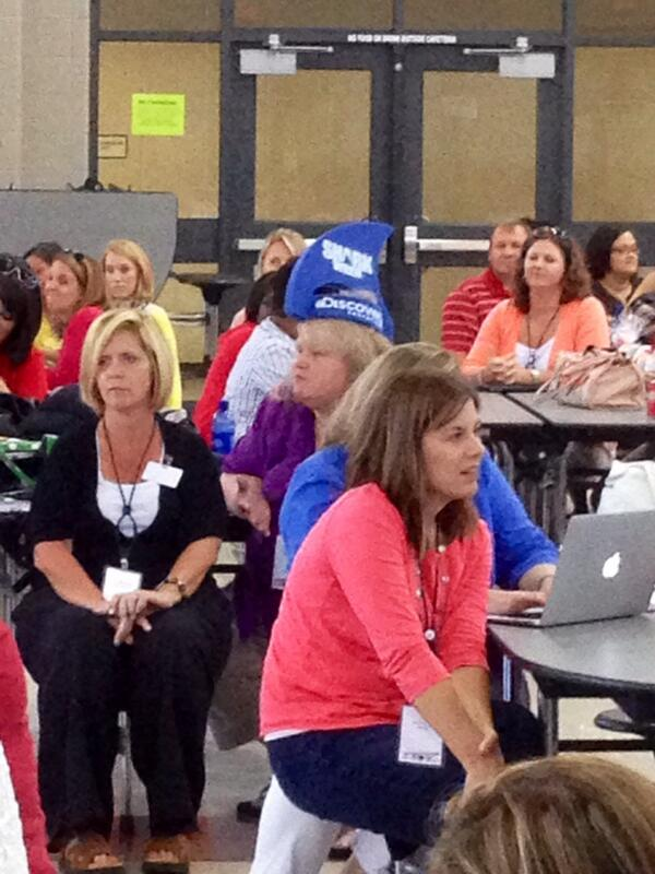 @DiscoveryEd represented at #edcampconnect #sharkweek http://t.co/etmekRSPeX