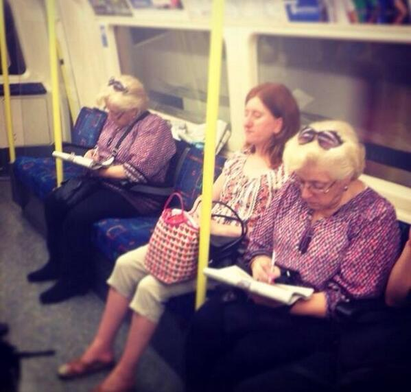A glitch in the matrix on London Underground http://t.co/TAZnRg8zfV via @gillyarcht @londonartist77