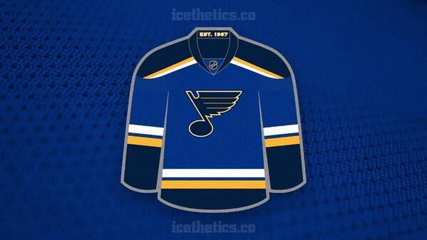 SNEAK PEEK: See the @StLouisBlues new home jersey design for 2014-15!  BLOG: http://t.co/hEmAorDxT4 http://t.co/OedpqjQrd3