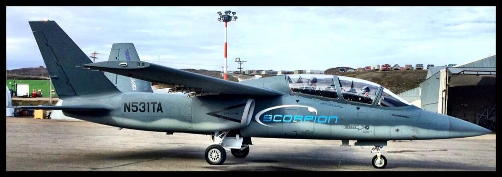 Scorpion ISR/Strike Aircraft Br9X3d0IcAAtIXl