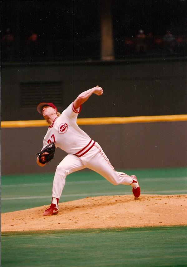 "Norm Charlton, Randy Myers & Rob Dibble, AKA the ""Nasty Boys"", will throw out simultaneous first pitches tonight. http://t.co/FLF7y8eB5J"