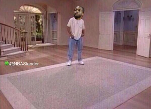 Wade gone be like #BRUH