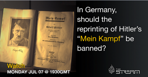 Thumbnail for Mein Kampf Copyright Expiration Chat, 7/7/14