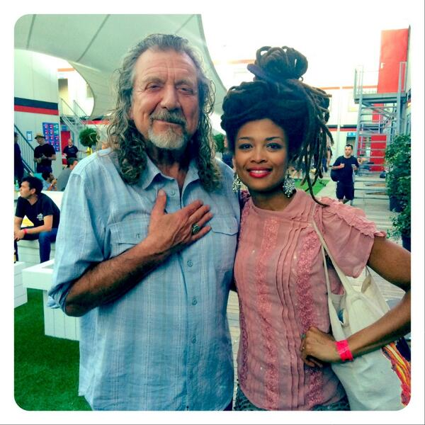 The legend himself, @RobertPlant and I @RockWerchter Thursday, need I say more? http://t.co/xRIZVVrrFo
