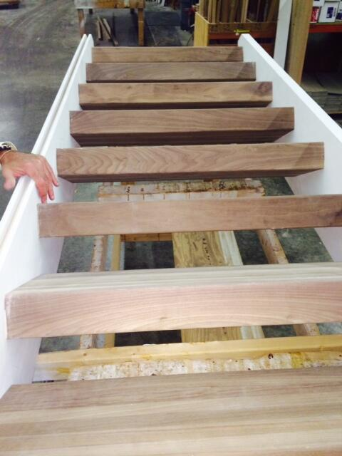 Mahogany 4 Inch Thick Stair Treads Produced In Our Custom Stairs Shop At  National Millwork @natlmillwork In Mansfieldpic.twitter.com/W1yFcGF0HX