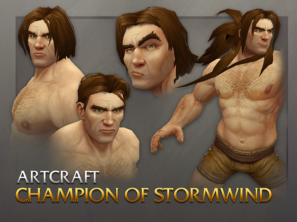 World of Warcraft p Twitter The updated male Human model