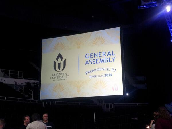 Thumbnail for 2014 UUA General Assembly opens with Dancing Cop