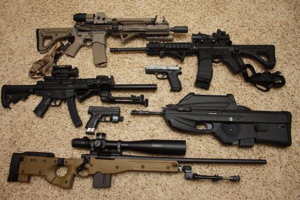Guns porn