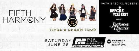 Hey come join us for the @FifthHarmony concert on Saturday we will be serving pizza pie slices. @JohnnyBan   #Indy http://t.co/UvoBN064Mu