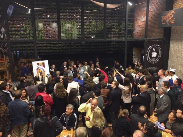 Inauguración Oficial Mercado Roma http://t.co/nxb3hVdsit