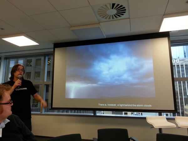 #OzMaker @rexster and @eddieharran kicking off the @Green_Dot Meet the Maker session http://t.co/xFnyvTu0EX