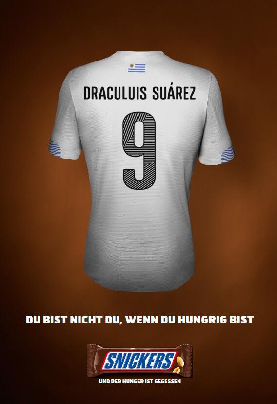 BBDO Düsseldorf und Snickers wissen, was Suarez gezähmt hätte http://t.co/0jPPSpM1TK