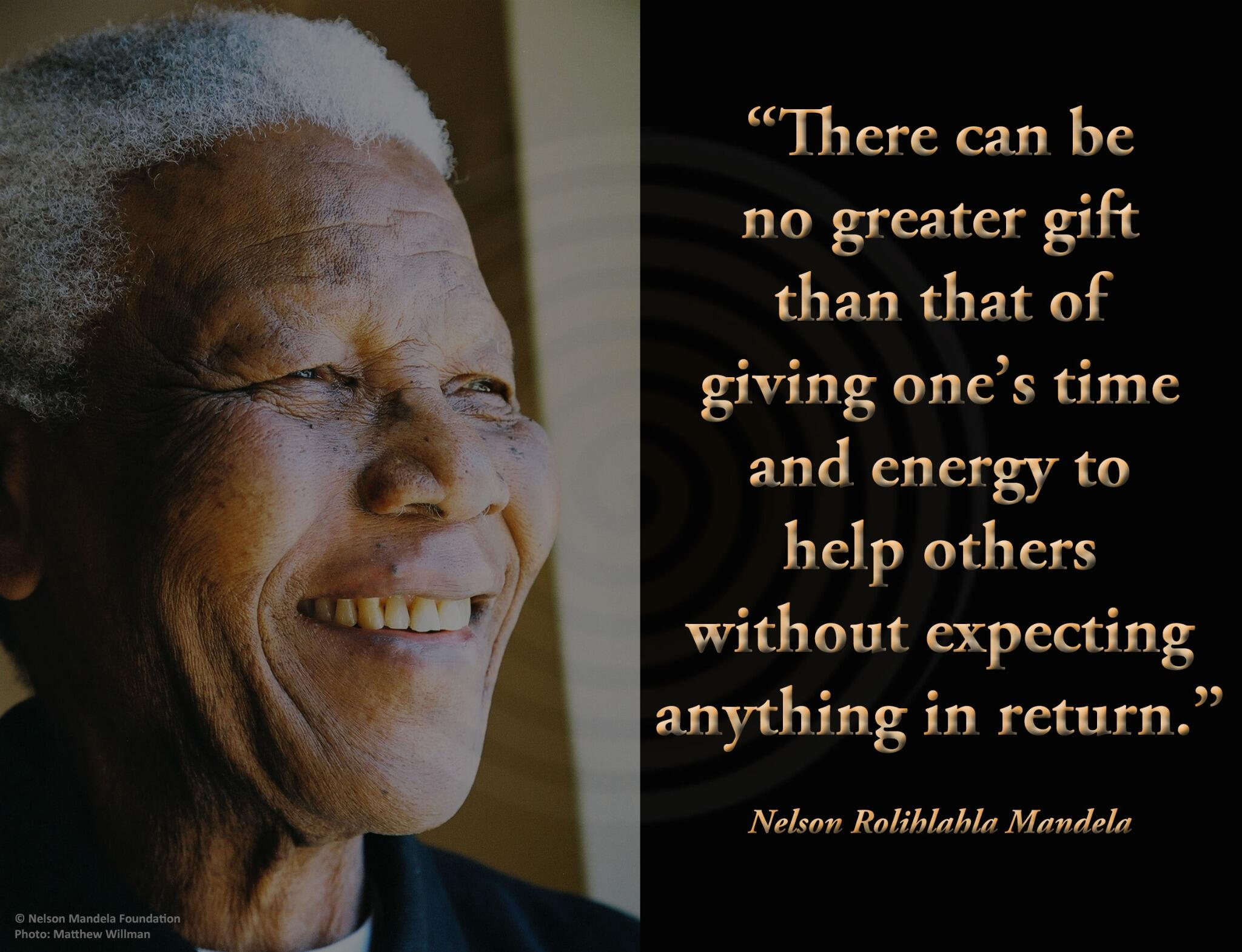 Image result for mandela quote on giving