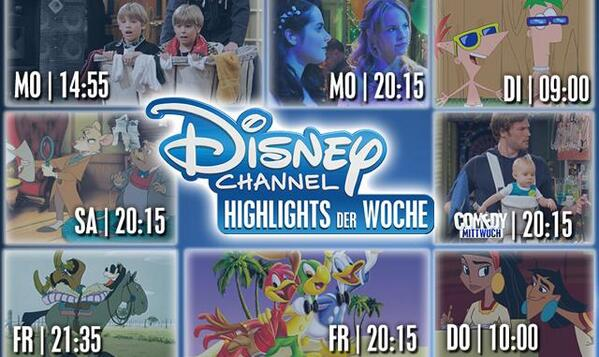 Was Kommt Auf Disney Channel