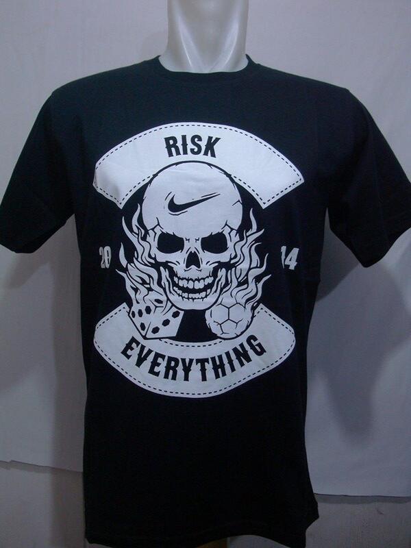 t shirt nike risk everything