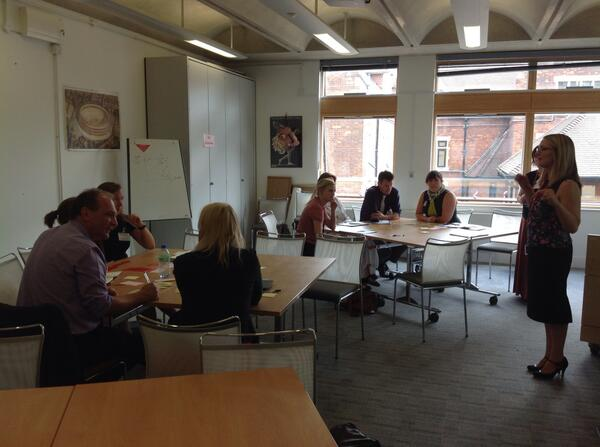 Benefits and challenges of collaboration in schools? Groups discuss... @HelenaMarsh81 @KFindler #SUPER2014 http://t.co/Wfem9fklyX