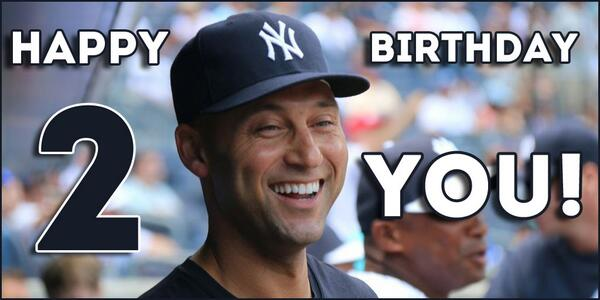 Mlb On Twitter Legend Captain Mr November Happy 40th Birthday