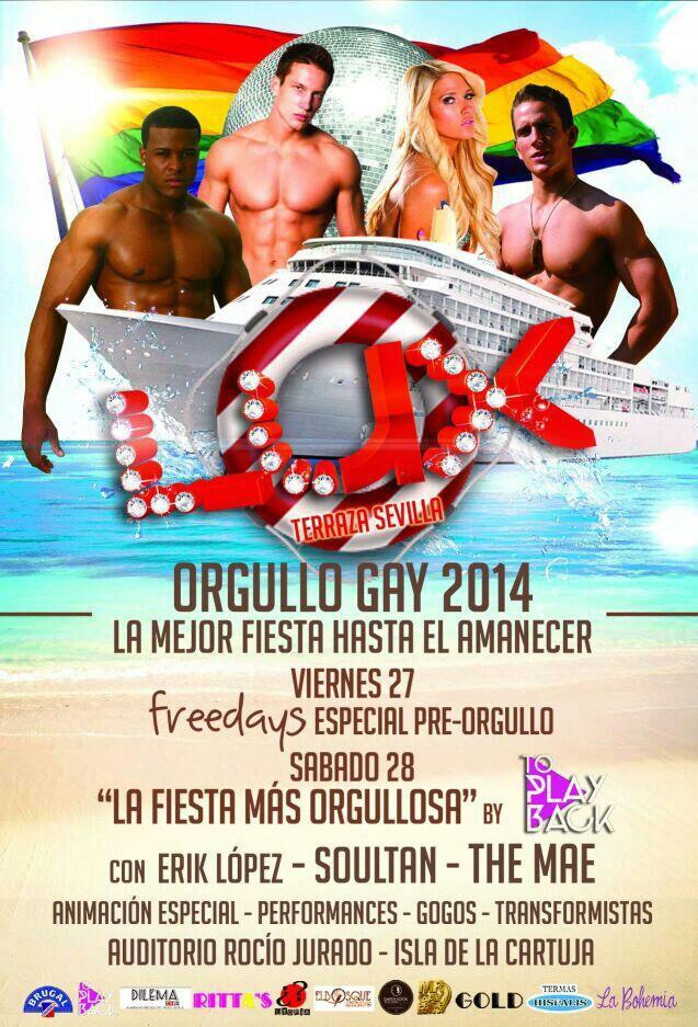 Lux Terraza Sevilla On Twitter La Fiesta Más Orgullosa