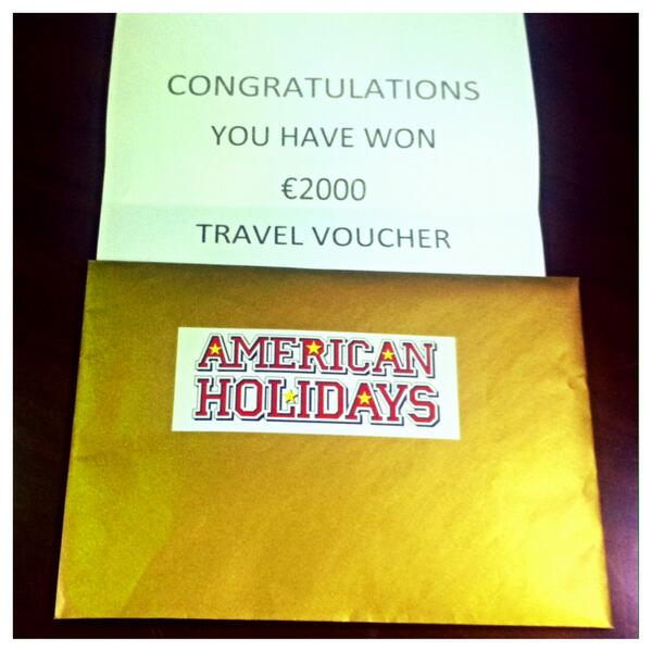 Fancy winning a €2,000 @AmericanHoliday Voucher to celebrate the #JOEbirthday? Simply RT to enter..... http://t.co/GD4WrAt9al