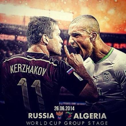 Algeria v Russia – both team to score special + Bet £25 & Get a £50 Free Bet!