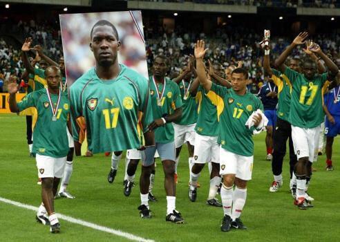 R.I.P Marc-Vivien Foé #Cameroun http://t.co/nnalXKdxoB