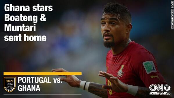 World Cup: Ghana sacks Sulley Muntari and Kevin Prince-Boateng - CNN.com