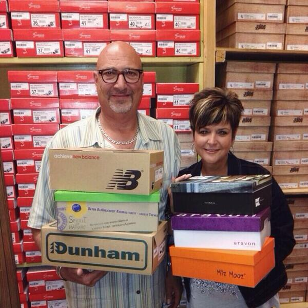 """Bissell Centre on Twitter: """"Bring gently used shoes to @up993 (9894-42ave) TODAY & TomKat shoes will double all shoe donations!"""
