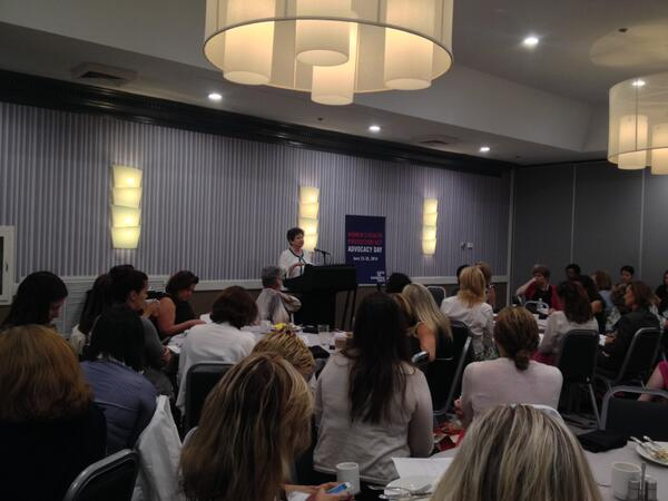 .@RepLoisFrankel speaks at our #ActForWomen Advocacy Day breakfast this morning http://t.co/n8qpNEocoR