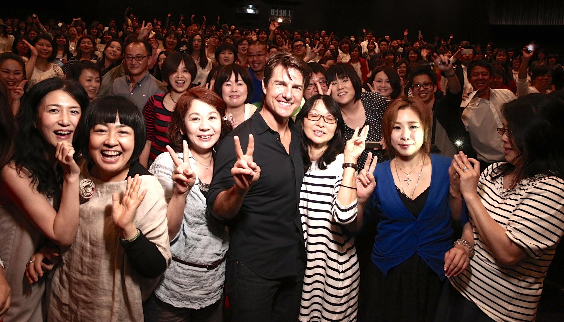 Twitter / TomCruise: What. A. Day. Thank you Osaka, ...