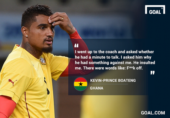 "Kevin Say's Kwesi Appiah Told Him In Full Brofu ""F**k Off"". Read In Full Here http://t.co/DpXrLBcxkC http://t.co/XTGpGZkliZ"