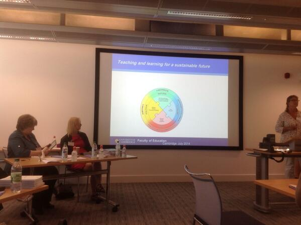 """""""@kathrynay: SUPER conference at Cambridge. Swedish teachers research 35%.Funded by school or University #SUPER2014 http://t.co/nHAjMw2KDc"""""""