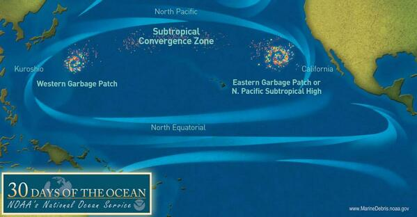 'Garbage Patch' in Pacific Grows to Hundreds of Miles