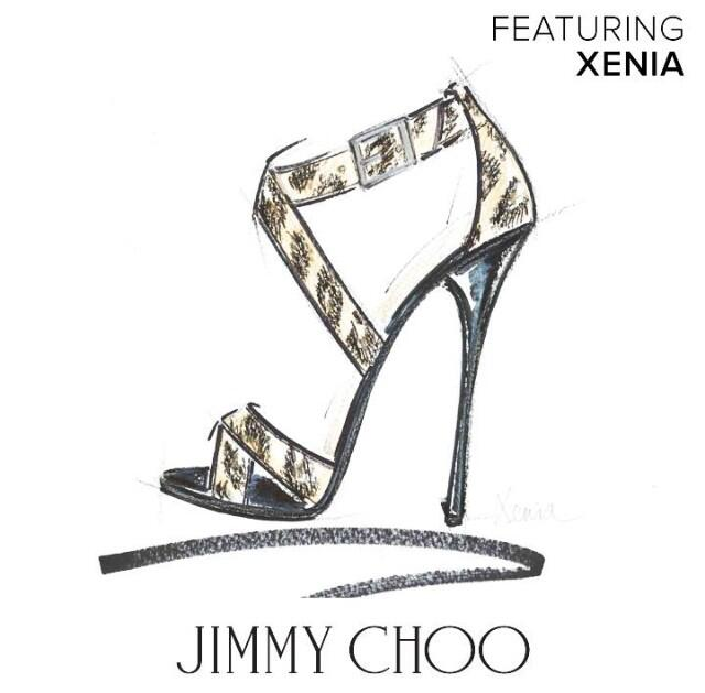 Twitter / _XeniaKara_: How very nice of Mr Jimmy Choo ...