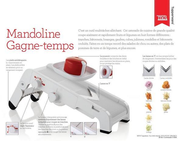 Tupperwarebynatasha on twitter tupperware mandoline for Prix container martinique