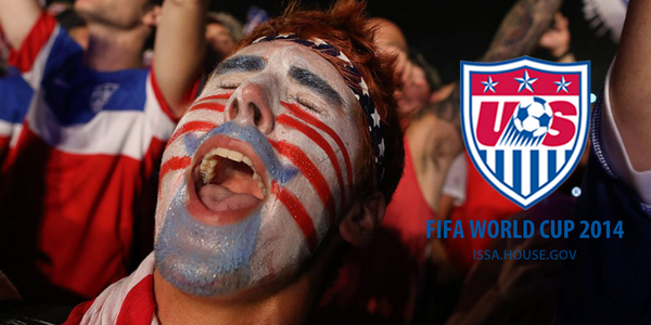 Who's pumped for the #USMNT match v. Germany at noon? #IBelieveThatWeWillWin #LetsDoThis http://t.co/w6zUQ6UgIp