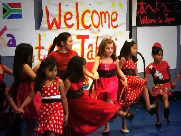 Albanian dancers performing #APCCInternationalweek @CMSmags @AlbanyParkPerks @AlbanyParkPost http://t.co/GlUughPke4