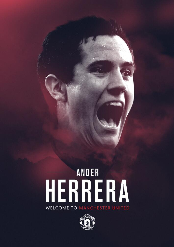 Twitter / ManUtd: Ander Herrera is a Red! #mufc ...