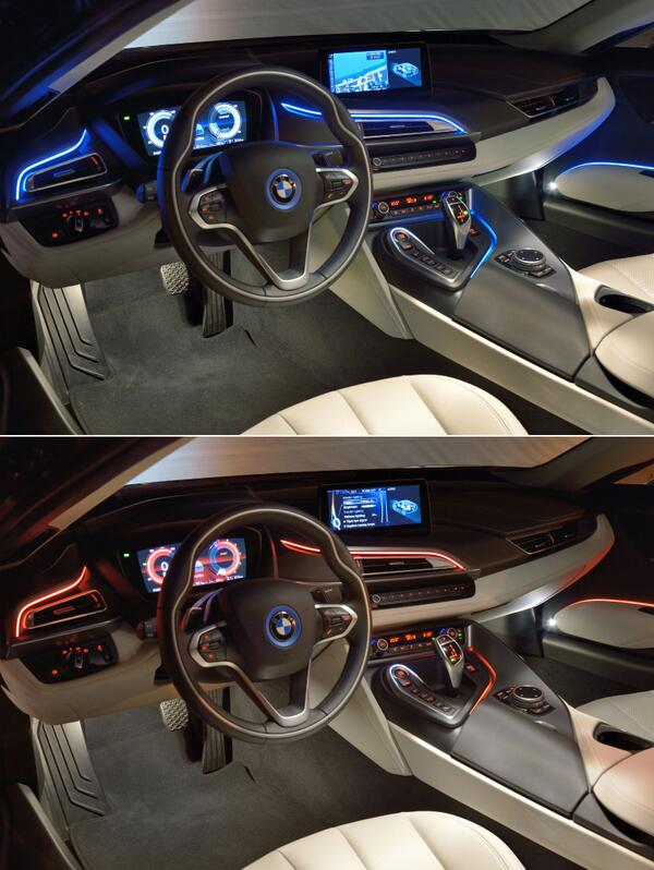 Bmw I On Twitter Your Mood Your Atmosphere Select From Different