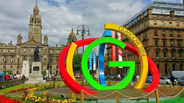 Preparing for the commonwealth games #Glasgow2014 http://t.co/Soztu2vzSp