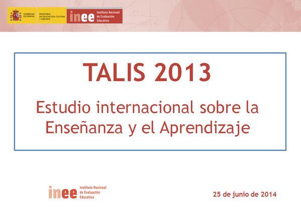 @educaINEE: Disponibles en nuestro slideshare todas las presentaciones del Congreso #TALIS http://t.co/0Ab8hf6mXb http://t.co/xDTnQOqdx8